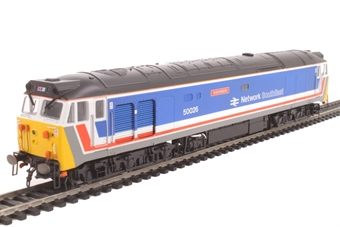 "R3471 Class 50 50026 ""Indomitable"" in original Network SouthEast livery"