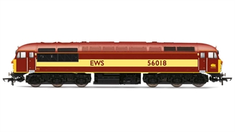 R3472 Class 56 56018 in EWS livery - Discontinued from 2016 range