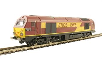 "R3481 Class 67 67025 ""Western Star"" in EWS livery"