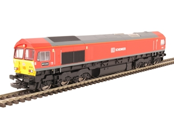 "R3486 Class 66 66185 ""DP World London Gateway"" in DB Schenker livery"