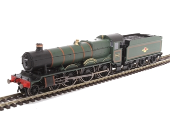 "R3499 Class 49xx 4-6-0 6947 ""Helmingham Hall"" in BR Green with late crest - Railroad Range £57"