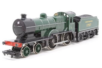 R350-L1-PO11 Class L1 4-4-0 1757 in SR Green - Pre-owned - chipped paint and damage to printing, marks on smokebox door, replacement box £38