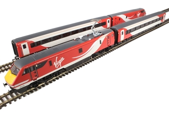 R3501 Virgin Trains East Coast train pack with Class 91 91124 & Mk4 DVT 82219 in VTEC livery - Limited Edition of 1000