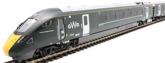 R3514 Class 800 IEP 5-car set 800004 in GWR green