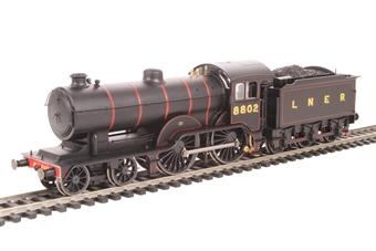 R3521 Class D16/3 4-4-0 8802 in LNER black
