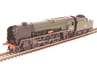 """R3524 Rebuilt 'West Country' 4-6-2 34096 """"Trevone"""" in BR green with late crest"""