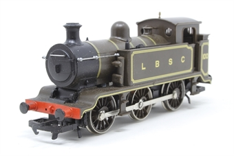 R353-100-PO09 Class E2 0-6-0T 100 in LBSC lined brown - Pre-owned - noisy runner, imperfect box