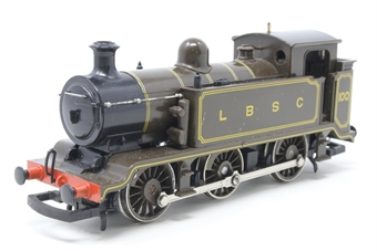 R353-100-PO13 Class E2 0-6-0T 100 in LBSC lined brown - Pre-owned - Noisy runner, missing coupling hook, replacement box