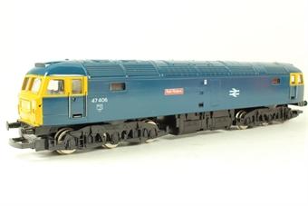 R354-47 Class 47 47406 'Rail Riders' in BR blue