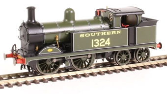 R3540 SECR Class H Wainwright 0-4-4T 1324 in Southern Railway olive green