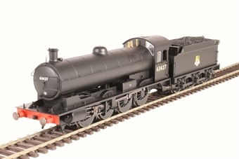 R3542 Class Q6 'Raven' 0-8-0 63427 in BR black with early emblem
