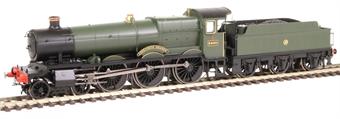 "R3552 Class 6800 'Grange' 4-6-0 6860 ""Aberporth Grange"" in GWR green with shirtbutton emblem"