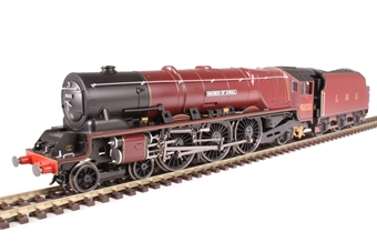 "R3553 Class 8P Princess Coronation 4-6-2 6231 ""Duchess of Atholl"" in LMS Crimson Lake"