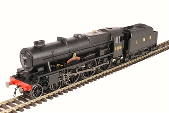 """R3557 Class 7P 'Royal Scot' 4-6-0 6126 """"Royal Army Service Corps"""" in LMS wartime black"""