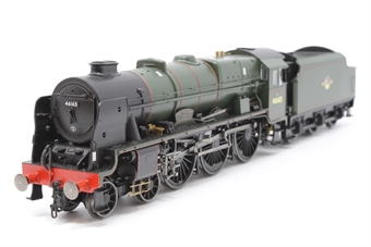 "R3558-PO01 Class 7P 'Royal Scot' 4-6-0 46165 ""The Ranger"" in BR green with late crest - Pre-owned - Like new"