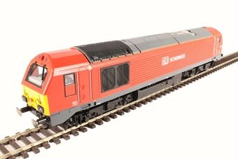 R3574 Class 67 67013 in DB Schenker red
