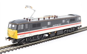 """R3582 Class 87 87010 """"King Arthur"""" in Intercity Swallow livery"""