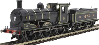"R3600TTS Class J36 0-6-0 673 ""Maude"" in North British Railway lined black - as preserved - TTS sound fitted"