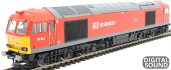 "R3605TTS Class 60 60044 ""Dowlow"" in DB Schenker red - TTS sound fitted"