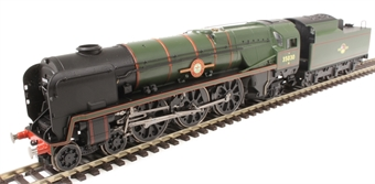 "R3617 Class 8P Rebuilt Merchant Navy 4-6-2 35030 ""Elder Dempster Lines"" in BR green with late crest"