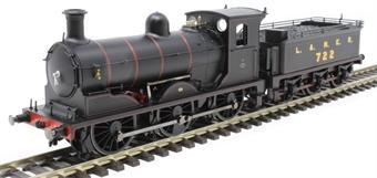 R3621 Class J36 0-6-0 722 in LNER black