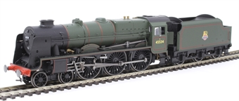 "R3633 Class 7P 'Rebuilt Patriot' 4-6-0 45534 ""E. Tootal Broadhurst"" in BR green with early emblem"