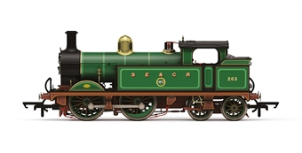 R3648 SECR Class H Wainwright 0-4-4T 263 in South Eastern and Chatham Railway lined green - Limited Edition for Hornby Collectors Club