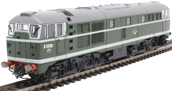 R3661 Class 31 D5509 in BR green
