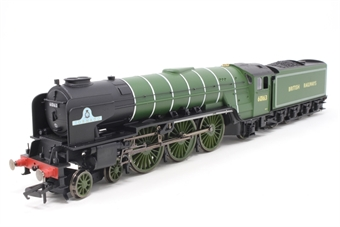 "R3663TTS-PO Class A1 4-6-2 60163 ""Tornado"" in LNER apple green with British Railways lettering - Railroad Range - TTS sound fitted - Open box, imperpect box"