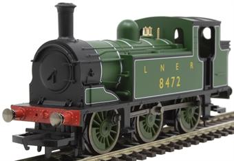 R3668 Class J83 0-6-0T 8482 in LNER green - Railroad range