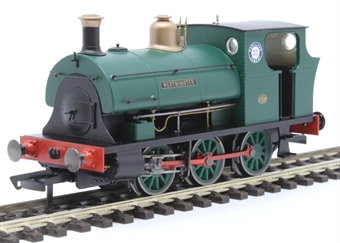 """R3694 Class B2 Peckett 0-6-0ST """"Westminster"""" in Associated Portland Cement green"""