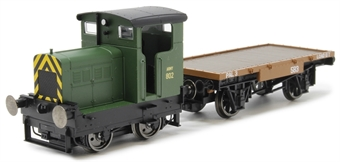 R3706 Ruston 48DS Army 802 in War Department green with match wagon £72