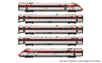 R3762 Class 800 IEP five car pack in LNER 'Azuma' livery