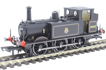 R3767 Class A1X Terrier 0-6-0T 32655 in BR black with early emblem