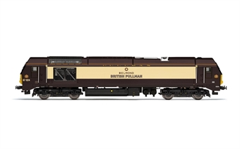 R3774 Class 67 67024 in Belmond British Pullman umber and cream