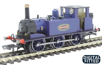 """R3781X Class A1 Terrier 0-6-0T 5 """"Rolvenden"""" in Kent and East Sussex Railway blue - Digital fitted"""