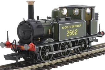 R3783 Class A1X Terrier 0-6-0T 2662 in Southern Railway olive green