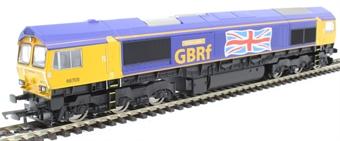 """R3784 Class 66 66705 """"Golden Jubilee"""" in GBRf livery"""