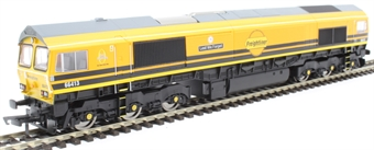 R3786 Class 66/4 66413 in Freightliner G&W orange and black