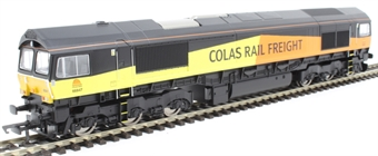 R3787 Class 66 66847 in Colas Rail Freight orange and black