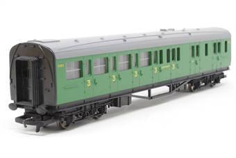 R4008D-PO01 SR Malachite Green Brake Coach No.3563 - Pre-owned - imperfect box
