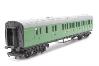 R4009C-PO05 SR Malachite Composite Coach - Pre-owned - glue marks on roof - imperfect box