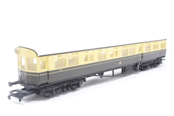 R4025-PO09 GWR Autocoach - Pre-owned - missing 3 buffers and a handrail - imperfect box