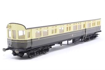 R4025A-PO03 GWR Choc/Cream Autocoach No.189 - Pre-owned - Like new