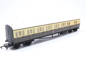 R4030C-PO03 GWR Choc/Cream Suburban B Coach No.6762 - Pre-owned - imperfect box