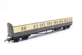 R4030D-PO05 GWR Choc/Cream Suburban B Coach No.6763 - Pre-owned - imperfect box