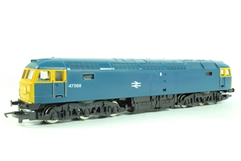 R404Hornby Class 47 47568 in BR blue