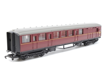 R4054A-PO02 BR (ex LNER) Brake Coach E10108E in BR Maroon - Pre-owned - imperfect box