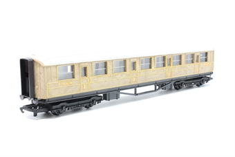 R4062-PO04 LNER teak composite (1st/3rd) coach - Pre-owned - Imperfect box