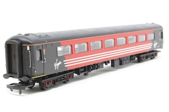 R4086C-PO Virgin Mk.2 Open Standard Coach 5948 - Pre-owned - putty weight added to one bogie for additional traction - glue marks on underframe where this has been applied